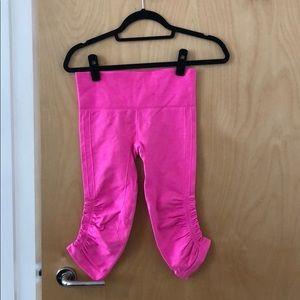 Lululemon Pink Work Out Pants